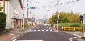 県単道路整備(防塵舗装)工事(0県債木之氏工区)