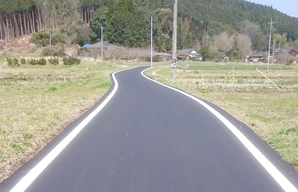 平川線道路舗装補修工事