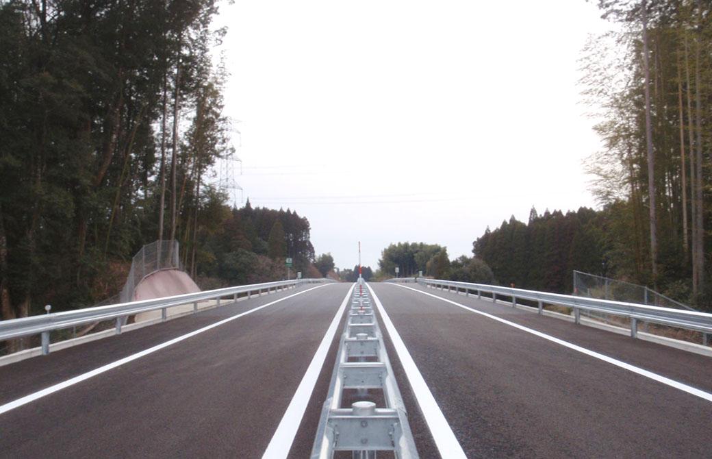 道路改築工事(薩摩道路22〜35工区)